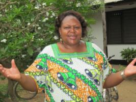 Flora Kessy of the Ifakara Health Institute