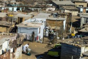 Soweto, the most famous township in South Africa.
