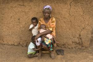 Lower birth rates and higher life expectancy: Ghanaian grandmother.