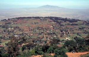 Farm land in the Rift Valley.