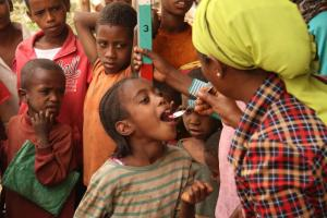 Mass immunisation against trachoma in Ethiopia.