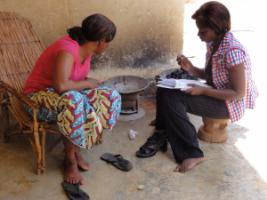GIZ household ­survey in Burkina Faso about the use of improved cookers.