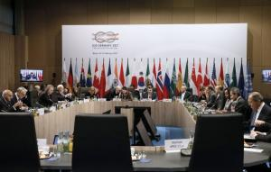 The G20 is supporting the  2030 Agenda for Sustainable Development: foreign ministers meeting in Bonn in February.