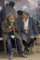 China's New Rural Pension Scheme reaches 133 million people over the age of 60: elderly Chinese men.