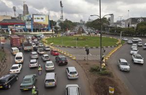 Self-driving cars could reduce congestion in megacities like Nairobi.