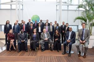 The 24 board members of the Green Climate Fund.