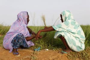 Rural women in Senegal: the World Bank wants them to have a voice in policymaking.