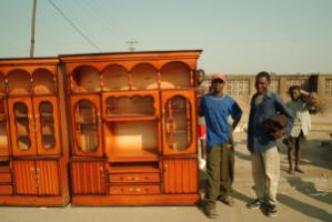 The business climate matters to everyone: furniture carpenters in Blantyre, Malawi.
