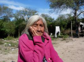 Indigenous Toba people live in the  Chaco province,  Northern Argentina.