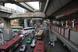 Bangkok is one of the world's most congested cities.