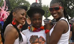 Participants in Gay Pride ­Johannesburg.