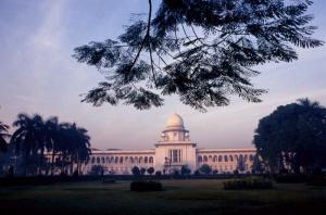 Supreme Court building in Dhaka.