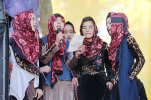 The CPS promotes peaceful coexistence: a cultural festival in Faizabad, Afghanistan.