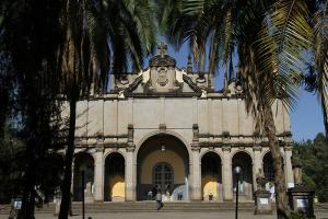 The Holy Trinity Cathedral in Addis Ababa is the foremost place of worship of Ethiopia's Orthodox church.