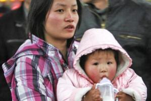 In China, milk consumption per capita has risen five times over the last 20 years.