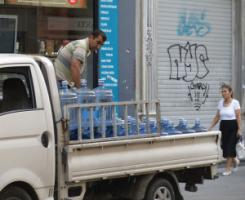 Drinking water supplier in Istanbul.
