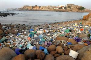 Plastic waste in Dakar, Senegal, in 2005: humankind needs global solutions to global chemicals problems.