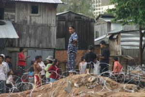 This informal settlement in Cambodia's capital Phnom Penh was evicted in 2006.