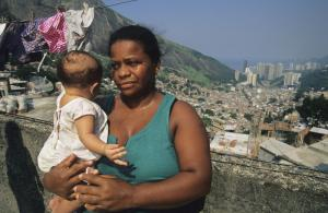 Favela life is tough, but two thirds of the residents do not want to move away.