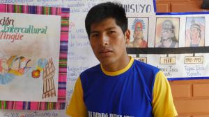 David Coca Coyo plans later to return to his home village and teach in Quechua.