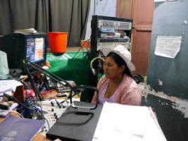Indigenous radio host