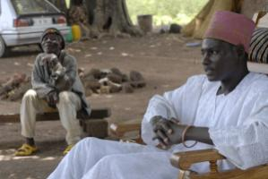 Traditional authorities matter: King Kamou Battou of the Gha, a small ethnic group that accounts for about eight percent of Burkina Faso's population, in 2008.