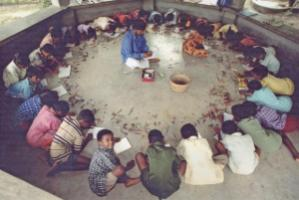 Non-formal school in Ghosaldanga.
