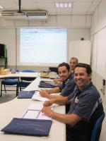 Training at Bosch in Campinas, Brazil.