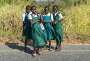 Schoolgirls in Malawi: Africa's youth need opportunities.