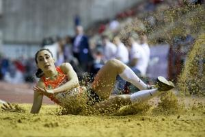 Ekaterina Koneva of Russia, the reigning world indoor triple jump champion, has been suspended for doping before. Now, the whole track and field team is excluded from international competitions.