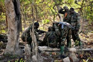 War reporting tends to be one-sided. Soldiers of the Ugandan army in 2012.