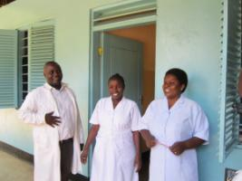 Well-trained experts at the Ifakara Health Institute in Tanzania.