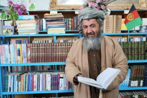 Ghulam Jelani, Head of Mosques in Afghanistan's Balkh Province Directorate of Hajj and Religious Affairs.