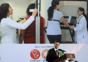 In 2013, President Enrique Peña Nieto introduced a national strategy to prevent and control obesity and diabetes.