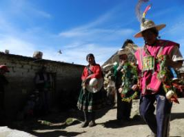 Traditional authorities resolve inner-community disputes in Bolivia's Potosí District.