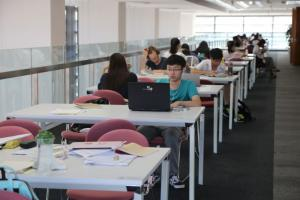 Not all relevant essays are available online anymore – an academic library in Suzhou.
