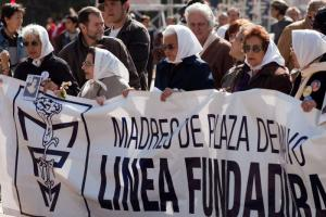 The Mothers of Plaza de Mayo protested against an amnesty for crimes committed during the military dictatorship in Argentina.