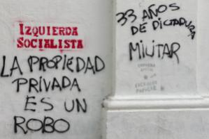 Graffiti in Buenos Aires: democracy indicators are often biased in systematical, methodological, cultural and ideological ways