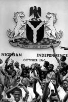 Nigerian boy scouts in Lagos on 30 September 1960