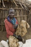 For some old people, the work life never ends: elderly Ugandan villager