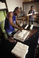 Local governments fiscally benefit from business activities: manufacturing soap in Benin