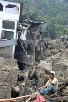 Guatemala suffered heavy downpours this year: The destroyed  village San Antonio Palopó