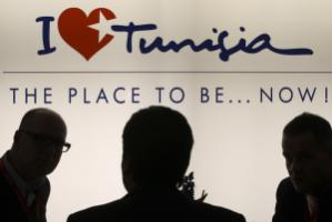 Visitors at Berlin's tourism trade fair ITB in March