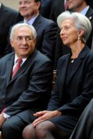 Strauss-Kahn and Lagarde in Washington in April