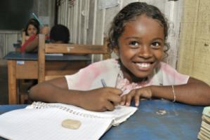 Proven success: conditional cash transfers have helped to enrol more girls in Brazilian schools