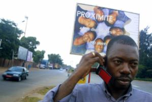 Private sector firms provide mobile telephony services in Benin