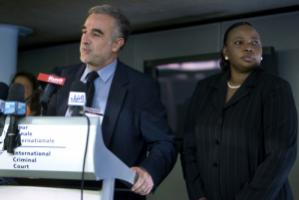 Fatou Bensouda will soon step out of Luis Moreno Ocampo's shadow