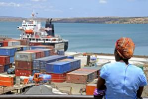Unless countries have a sea port, transport costs hamper trade and development: Mahajanga in Madagascar