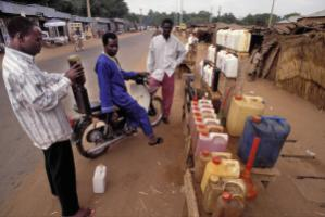 Contained: Illegal street vending of Nigerian petrol