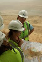 Disclosure is only voluntary: observers from  the Extractive Industries Transparency Initiative visiting the Newmont Mine in Ghana